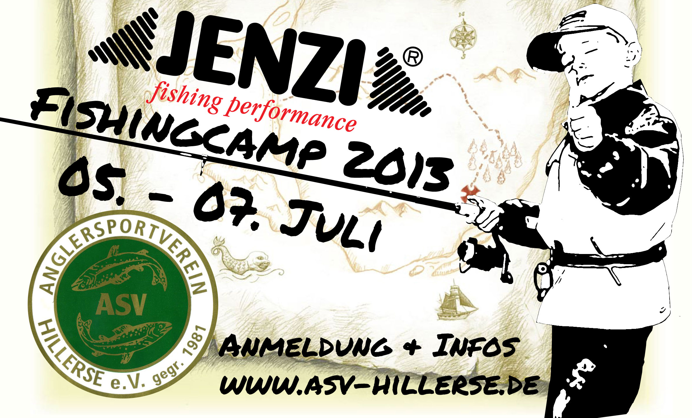 Wow: Jenzi-Jugendfishercamp 2013 in Kooperation mit dem ASV Hillerse!