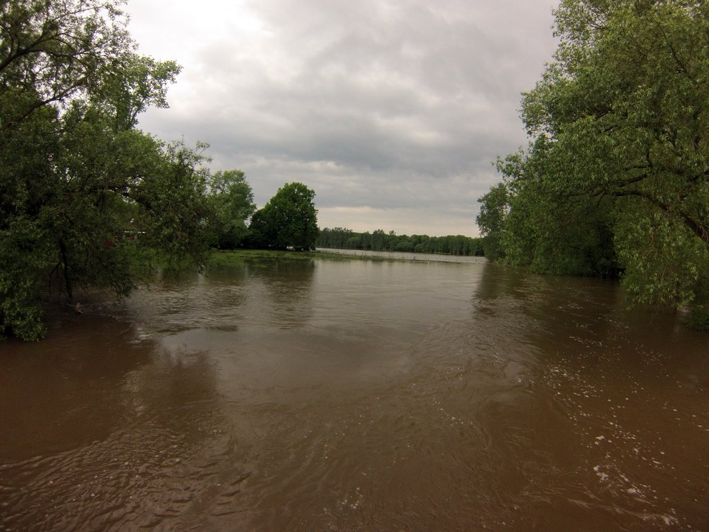 Amazonas in Hillerse? Okerhochwasser 2013