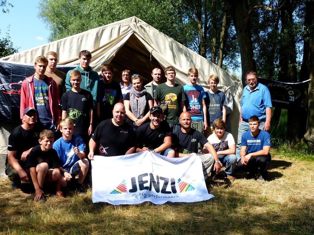 JENZI Fishingcamp – so wars…..