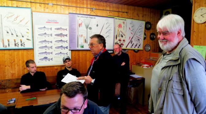 ASV-Lehrgang: Fischerprüfung bestanden