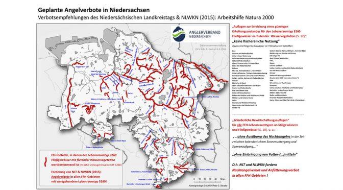 Natura 2000 Arbeitshilfe – Angeln ist bald vorbei !