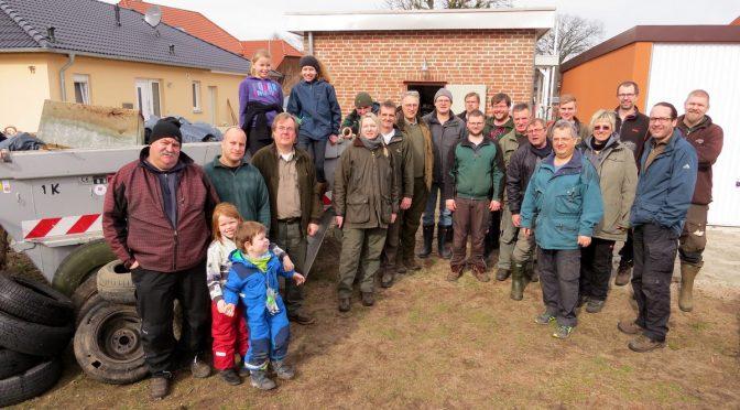 6. Umwelttag der Jäger & Angler in Hillerse