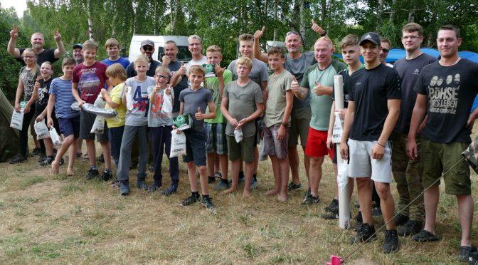 Jugendzeltlager 2018 – Fische, Abenteuer, Sonnenschein