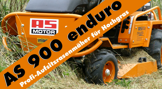 Unser neues Baby: AS 900 enduro