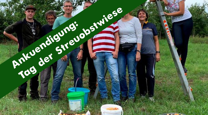08. September 2019: Aktionstag der Streuobstwiese
