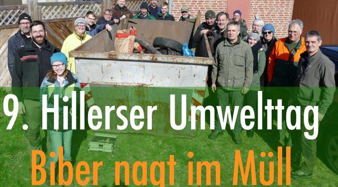 9. Hillerser Umwelttag: Großes Reinemachen im Biberrevier