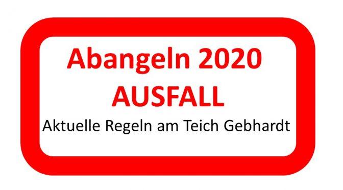 Teich Gebhard – Abangeln & Regelungen 2020